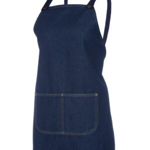 JB's CROSS BACK 65×71 BIB DENIM APRON (WITHOUT STRAP)