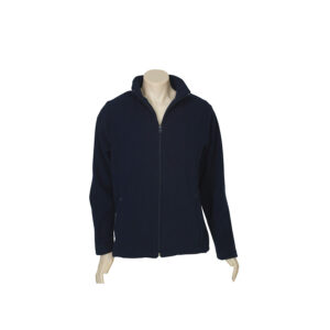 BIZ LADIES PLAIN MICRO FLEECE JACKET