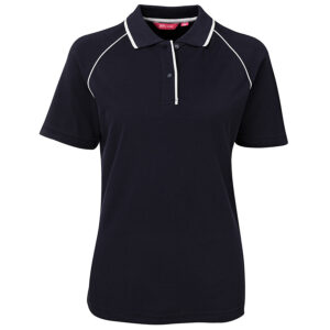 JB'S LADIES RAGLAN POLO