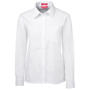 JB'S LADIES L/S ORIGINAL POPLIN SHIRT