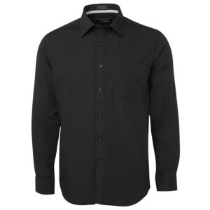 JB'S L/S CONTRAST PLACKET SHIRT