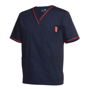 JB's CONTRAST SCRUBS TOP