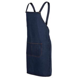 JB'S CROSS BACK DENIM APRON (WITHOUT STRAP)