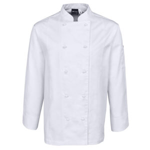 JB'S L/S VENTED CHEF'S JACKET
