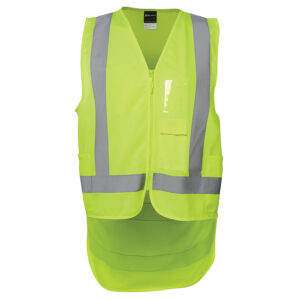 JB'S HI VIS DROP TAIL H PATTERN (D+N) VEST