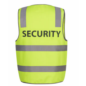JB'S HI VIS D+N SAFETY VEST SECURITY
