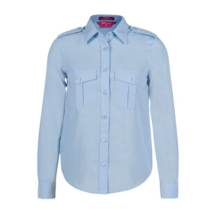 JB'S LADIES L/S EPAULETTE SHIRT
