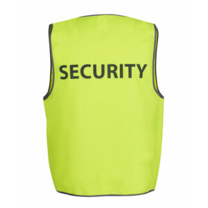 JB'S HI VIS SAFETY VEST SECURITY