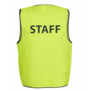 JB'S HI VIS SAFETY VEST STAFF