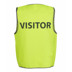 JB'S HI VIS SAFETY VEST VISITOR