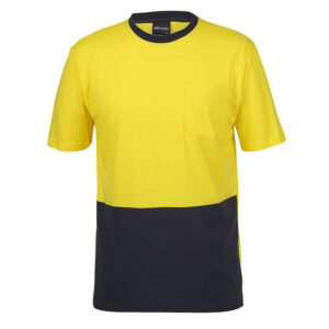 JB's HI VIS CREW NECK COTTON T-SHIRT