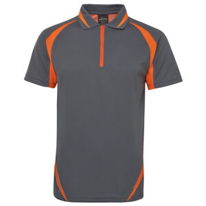 PODIUM ZIP POLY POLO