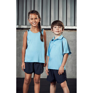 BIZ KIDS FLASH SINGLET