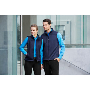 BIZ MENS SOFT SHELL VEST