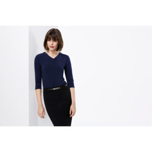 BIZ LADIES LANA 3/4 SLEEVE TOP