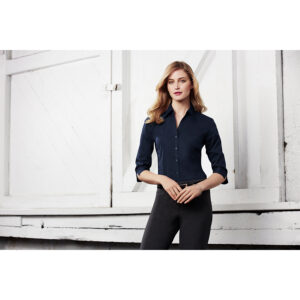 BIZ LADIES METRO 3/4 SLEEVE SHIRT