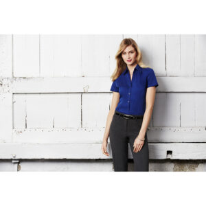 BIZ LADIES METRO SHORT SLEEVE SHIRT