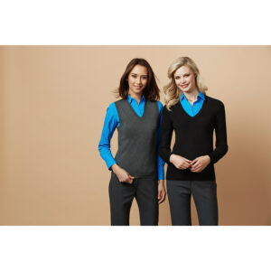 BIZ LADIES V-NECK PULLOVER