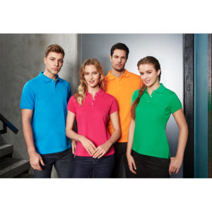 BIZ LADIES NEON POLO