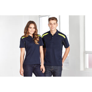 BIZ MENS UNITED SHORT SLEEVE POLO