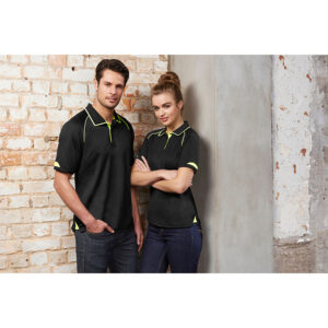 BIZ MENS FUSION POLO