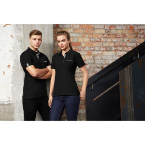 BIZ MENS EDGE POLO