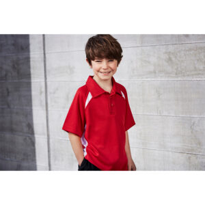 BIZ KIDS SPLICE POLO
