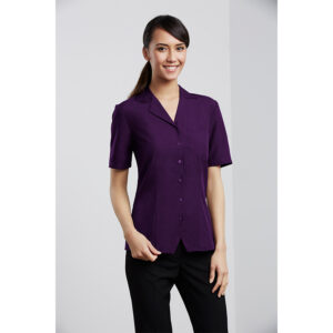 BIZ LADIES PLAIN OASIS OVERBLOUSE