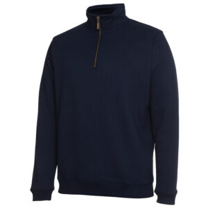 COC 1/2 ZIP BRASS ZIP SWEAT