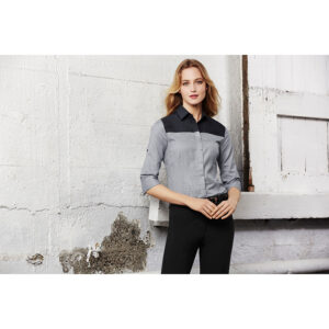 BIZ LADIES HAVANA 3/4 SLEEVE SHIRT