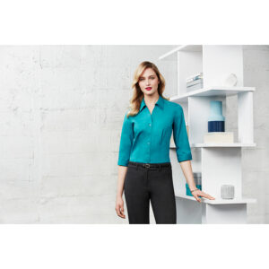 BIZ LADIES MONACO 3/4 SLEEVE SHIRT
