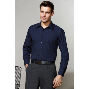 BIZ MENS METRO LONG SLEEVE SHIRT