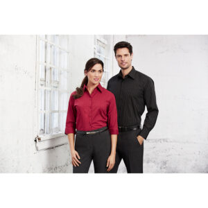 BIZ LADIES MANHATTAN 3/4 SLEEVE SHIRT