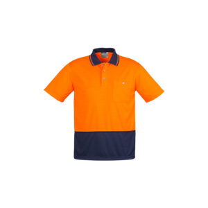 Syzmik Unisex Hi Vis Basic Spliced Polo – Short Sleeve
