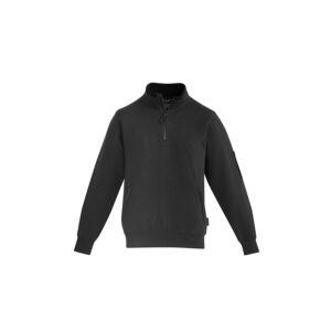 Syzmik Mens 1/4 Zip Brushed Fleece