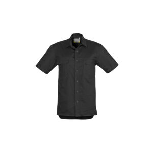Syzmik Mens Light Weight Tradie Short Sleeve Shirt