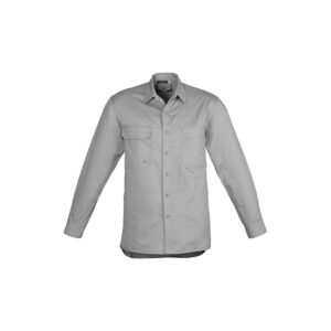 Syzmik Mens Lightweight Tradie Long Sleeve Shirt