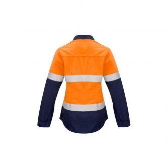 ZW131_OrangeNavy_Back