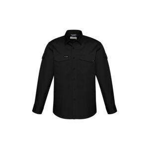 Syzmik Mens Rugged Cooling Mens Long Sleeve Shirt