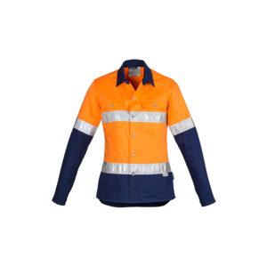 Syzmik Womens Hi Vis Spliced Industrial Shirt – Hoop Taped