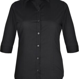 Aussie Pacific Ladies Kingswood 3/4 Sleeve Shirt