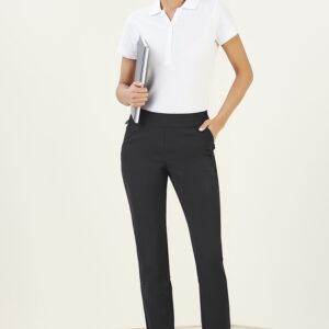 BIZ Womens Jane Ankle Length Stretch Pant